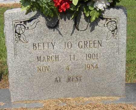 GREEN, BETTY JO - Lonoke County, Arkansas | BETTY JO GREEN - Arkansas Gravestone Photos