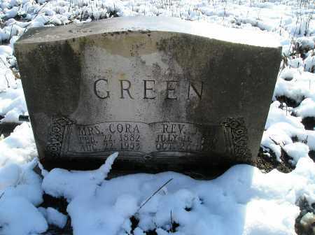 GREEN, CORA - Lonoke County, Arkansas   CORA GREEN - Arkansas Gravestone Photos
