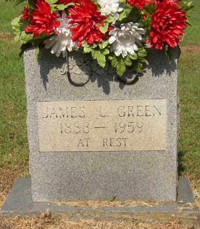 GREEN (VETERAN WWI), JAMES LESLIE - Lonoke County, Arkansas | JAMES LESLIE GREEN (VETERAN WWI) - Arkansas Gravestone Photos