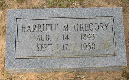 GREGORY, HARRIETT M. - Lonoke County, Arkansas | HARRIETT M. GREGORY - Arkansas Gravestone Photos