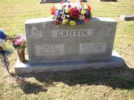 PRUETT GRIFFIN, BETTY - Lonoke County, Arkansas | BETTY PRUETT GRIFFIN - Arkansas Gravestone Photos