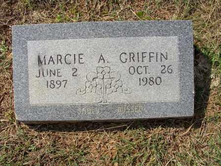 GRIFFIN, MARCIE A. - Lonoke County, Arkansas   MARCIE A. GRIFFIN - Arkansas Gravestone Photos