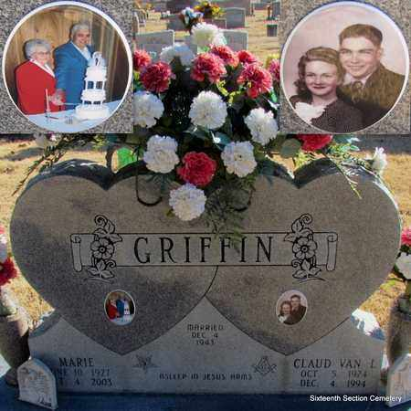 NEAL GRIFFIN, MARIE - Lonoke County, Arkansas   MARIE NEAL GRIFFIN - Arkansas Gravestone Photos