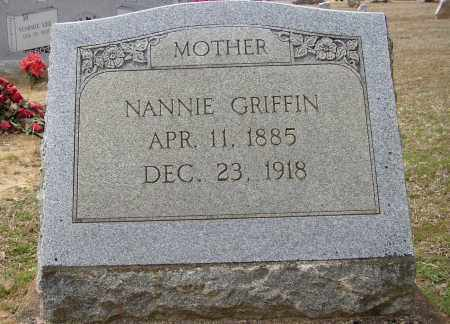 GRIFFIN, NANNIE - Lonoke County, Arkansas | NANNIE GRIFFIN - Arkansas Gravestone Photos