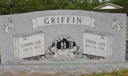 GRIFFIN, TOMMIE LEE - Lonoke County, Arkansas   TOMMIE LEE GRIFFIN - Arkansas Gravestone Photos