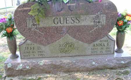 GUESS, ANNA E. - Lonoke County, Arkansas   ANNA E. GUESS - Arkansas Gravestone Photos