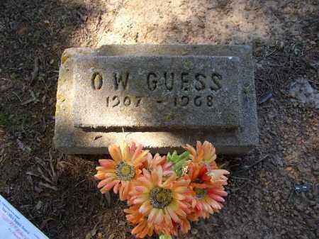 GUESS, O. W. - Lonoke County, Arkansas | O. W. GUESS - Arkansas Gravestone Photos