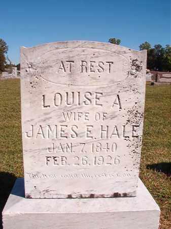 HALE, LOUISE A - Lonoke County, Arkansas | LOUISE A HALE - Arkansas Gravestone Photos