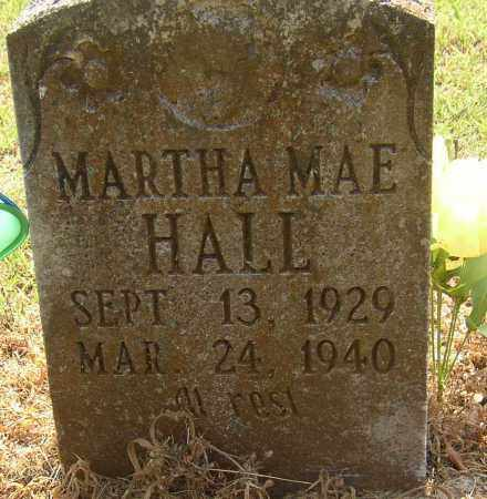 HALL, MARTHA MAE - Lonoke County, Arkansas | MARTHA MAE HALL - Arkansas Gravestone Photos