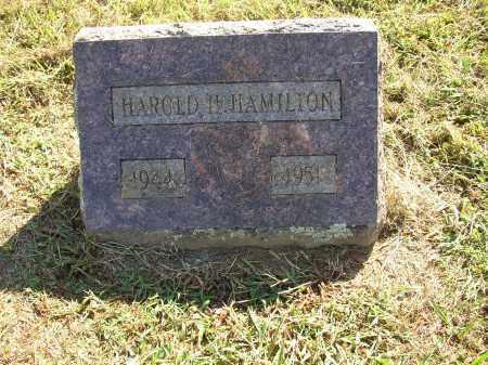 HAMILTON, HAROLD H. - Lonoke County, Arkansas | HAROLD H. HAMILTON - Arkansas Gravestone Photos