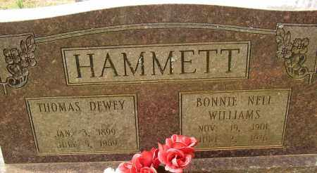 HAMMETT, BONNIE NELL - Lonoke County, Arkansas | BONNIE NELL HAMMETT - Arkansas Gravestone Photos