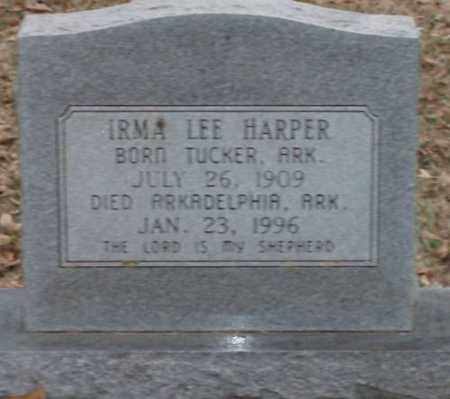 HARPER, IRMA LEE - Lonoke County, Arkansas | IRMA LEE HARPER - Arkansas Gravestone Photos