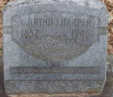 HARPER, MARTHA J - Lonoke County, Arkansas | MARTHA J HARPER - Arkansas Gravestone Photos