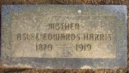 EDWARDS HARRIS, ASLEE - Lonoke County, Arkansas | ASLEE EDWARDS HARRIS - Arkansas Gravestone Photos