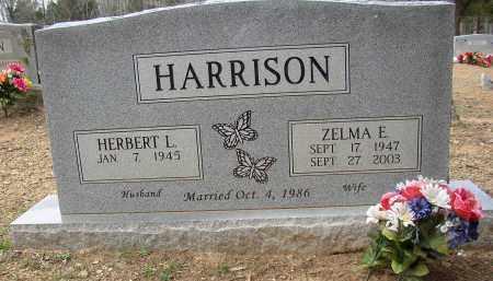 HARRISON, ZELMA E. - Lonoke County, Arkansas | ZELMA E. HARRISON - Arkansas Gravestone Photos