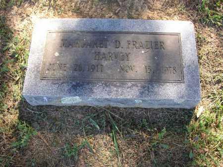 FRAZIER HARVEY, MARGARET D. - Lonoke County, Arkansas | MARGARET D. FRAZIER HARVEY - Arkansas Gravestone Photos