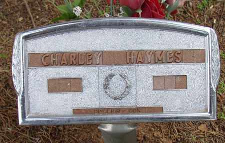HAYMES, CHARLEY - Lonoke County, Arkansas | CHARLEY HAYMES - Arkansas Gravestone Photos