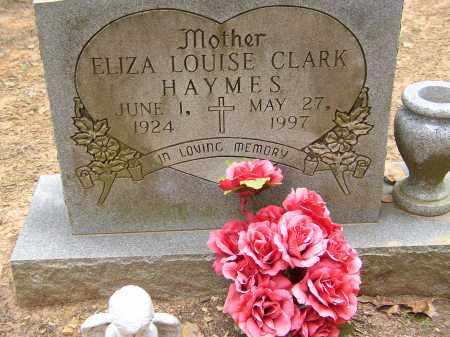 HAYMES, ELIZA LOUISE - Lonoke County, Arkansas | ELIZA LOUISE HAYMES - Arkansas Gravestone Photos