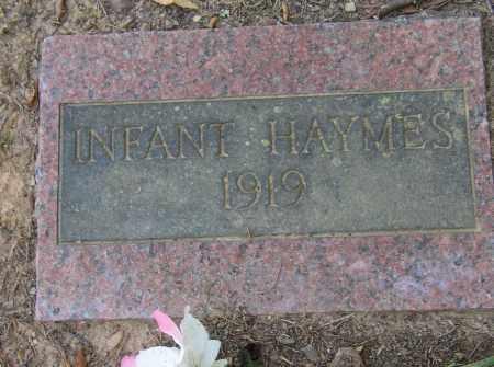 HAYMES, INFANT - Lonoke County, Arkansas | INFANT HAYMES - Arkansas Gravestone Photos