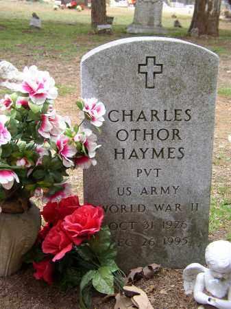 HAYMES (VETERAN WWII), CHARLES OTHOR - Lonoke County, Arkansas | CHARLES OTHOR HAYMES (VETERAN WWII) - Arkansas Gravestone Photos