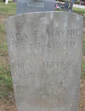 HAYNIE, M. V. - Lonoke County, Arkansas | M. V. HAYNIE - Arkansas Gravestone Photos