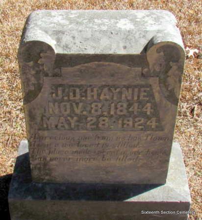 HAYNIE (VETERAN CSA), JEFFERSON DAVIS - Lonoke County, Arkansas | JEFFERSON DAVIS HAYNIE (VETERAN CSA) - Arkansas Gravestone Photos