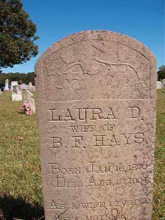 HAYS, LAURA D - Lonoke County, Arkansas | LAURA D HAYS - Arkansas Gravestone Photos