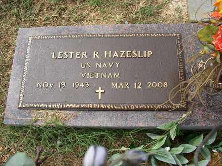 HAZESLIP (VETERAN VIET), LESTER R - Lonoke County, Arkansas   LESTER R HAZESLIP (VETERAN VIET) - Arkansas Gravestone Photos