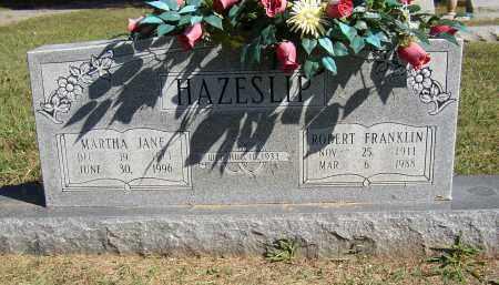 HAZESLIP, MARTHA JANE - Lonoke County, Arkansas   MARTHA JANE HAZESLIP - Arkansas Gravestone Photos