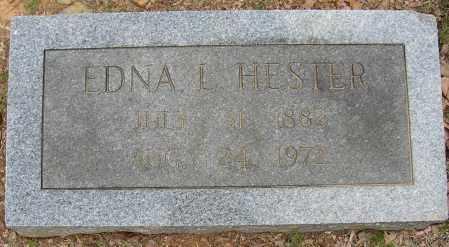 HESTER, EDNA L. - Lonoke County, Arkansas | EDNA L. HESTER - Arkansas Gravestone Photos