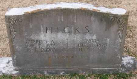 HICKS, NORA - Lonoke County, Arkansas | NORA HICKS - Arkansas Gravestone Photos