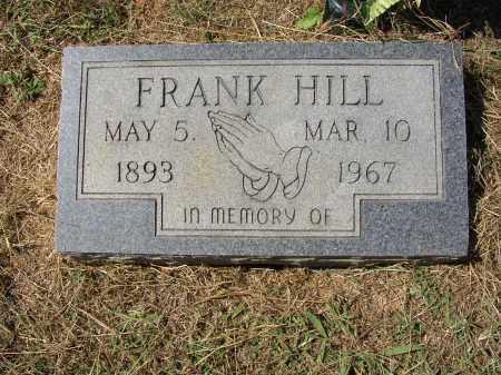 HILL, FRANK - Lonoke County, Arkansas | FRANK HILL - Arkansas Gravestone Photos