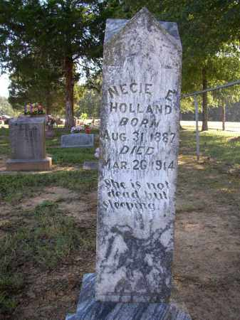 HOLLAND, NECIE E. - Lonoke County, Arkansas   NECIE E. HOLLAND - Arkansas Gravestone Photos