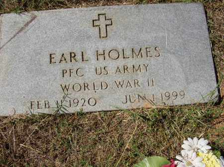 HOLMES (VETERAN WWII), EARL - Lonoke County, Arkansas   EARL HOLMES (VETERAN WWII) - Arkansas Gravestone Photos