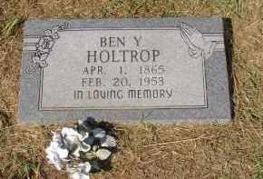 HOLTROP, BEN Y. - Lonoke County, Arkansas   BEN Y. HOLTROP - Arkansas Gravestone Photos