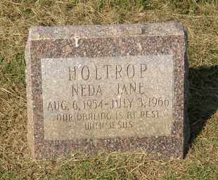 HOLTROP, NEDA JANE - Lonoke County, Arkansas | NEDA JANE HOLTROP - Arkansas Gravestone Photos