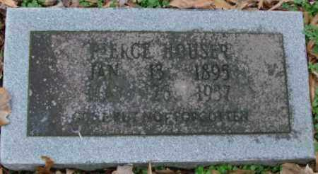 HOUSER, PIERCE - Lonoke County, Arkansas | PIERCE HOUSER - Arkansas Gravestone Photos