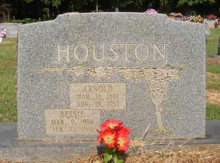 HOUSTON, ARNOLD - Lonoke County, Arkansas | ARNOLD HOUSTON - Arkansas Gravestone Photos