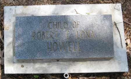 HOWELL, CHILD - Lonoke County, Arkansas | CHILD HOWELL - Arkansas Gravestone Photos