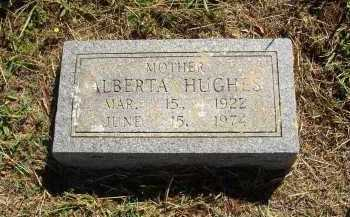 HUGHES, ALBERTA - Lonoke County, Arkansas | ALBERTA HUGHES - Arkansas Gravestone Photos