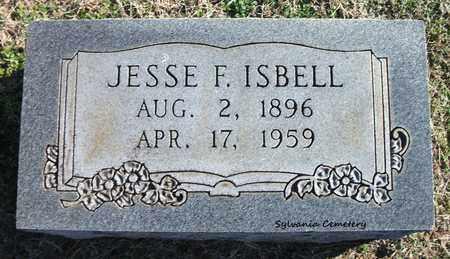 ISBELL, JESSE F - Lonoke County, Arkansas | JESSE F ISBELL - Arkansas Gravestone Photos