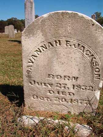 JACKSON, SAVANNAH F - Lonoke County, Arkansas | SAVANNAH F JACKSON - Arkansas Gravestone Photos