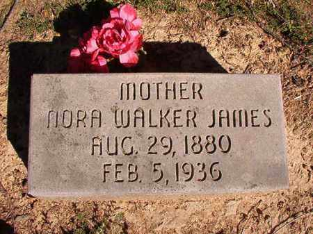 WALKER JAMES, NORA - Lonoke County, Arkansas | NORA WALKER JAMES - Arkansas Gravestone Photos