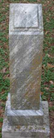 JOHNSON, J  D - Lonoke County, Arkansas   J  D JOHNSON - Arkansas Gravestone Photos