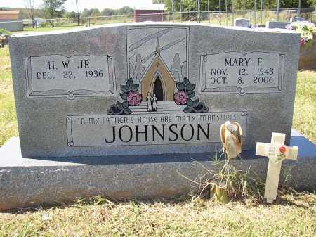 JOHNSON, MARY F. - Lonoke County, Arkansas | MARY F. JOHNSON - Arkansas Gravestone Photos