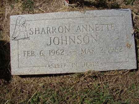 JOHNSON, SHARRON ANNETTE - Lonoke County, Arkansas | SHARRON ANNETTE JOHNSON - Arkansas Gravestone Photos