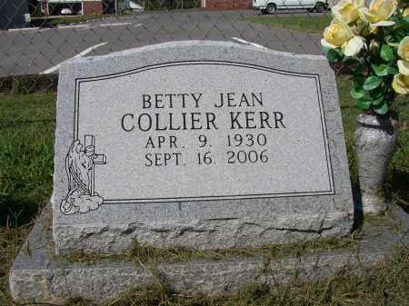COLLIER KERR, BETTY JEAN - Lonoke County, Arkansas   BETTY JEAN COLLIER KERR - Arkansas Gravestone Photos