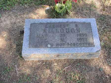 KILLOUGH, EARNEST B. - Lonoke County, Arkansas | EARNEST B. KILLOUGH - Arkansas Gravestone Photos
