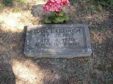 KILLOUGH, EDDIE L. - Lonoke County, Arkansas | EDDIE L. KILLOUGH - Arkansas Gravestone Photos