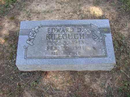 KILLOUGH, EDWARD D. - Lonoke County, Arkansas | EDWARD D. KILLOUGH - Arkansas Gravestone Photos